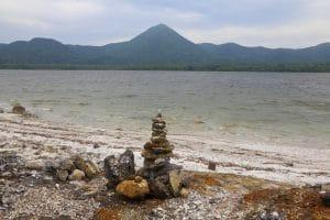 Lake Usori, Osorezan – one of the holiest sites in Japan