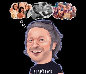 Slapstick 2019, Bristol - Richard Herring's head