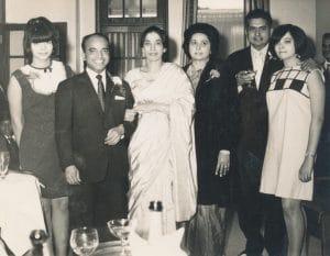 Wedding Day of Joeseph Gyanapraksan (head waiter at the India Club). India Club. 17th September 1966. Courtesy of David Joeseph