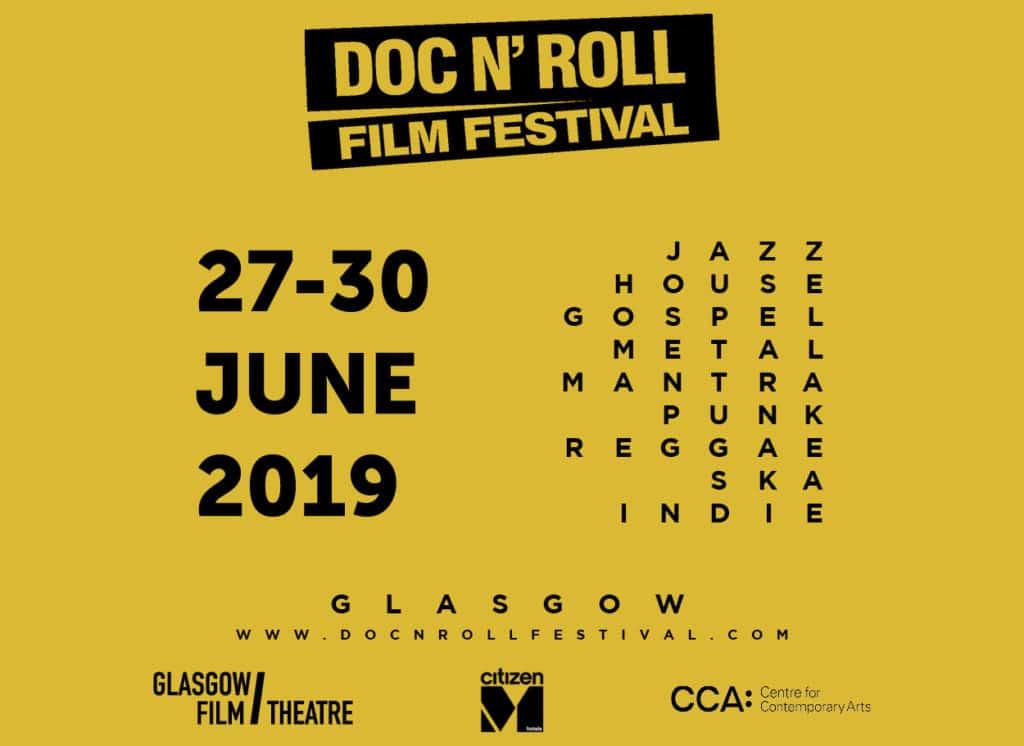 Doc'n Roll Film Festival Glasgow 2019