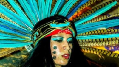 Atlachinolli Aztec culture group