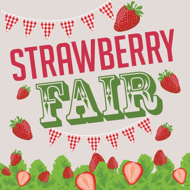 Brogdale Strawberry Fair 2019 in Kent