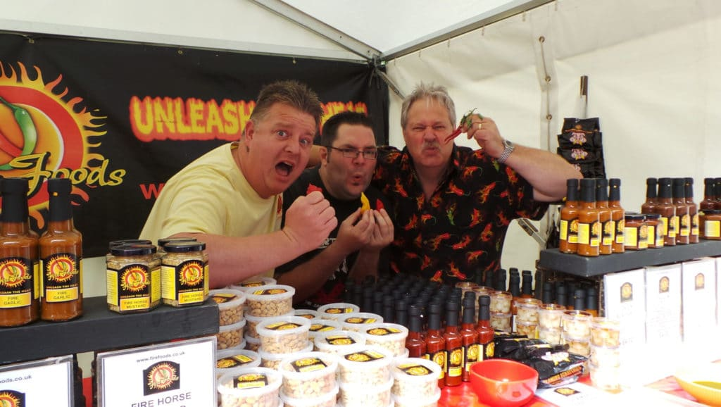 Holker Hall Chilli Fest 2019, Cumbria