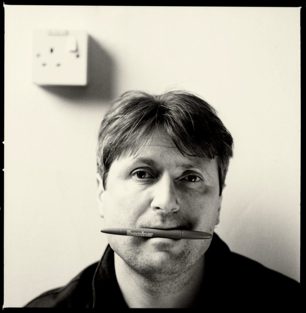 Simon Armitage, photo Paul Wolfgang Webster