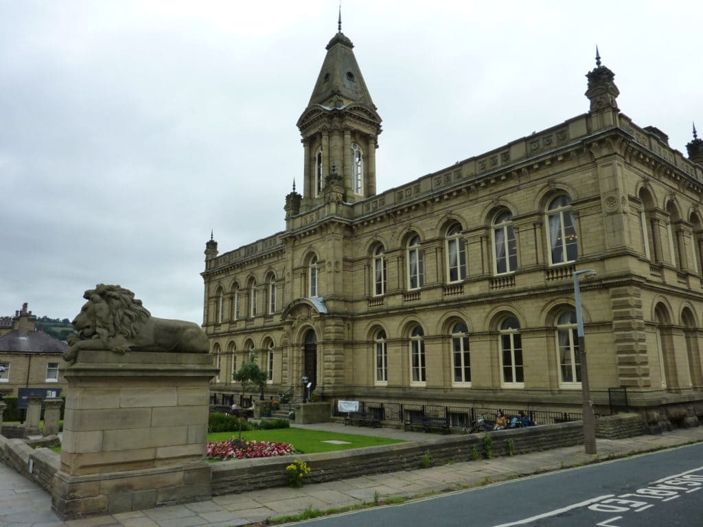 Victoria Hall in Saltaire