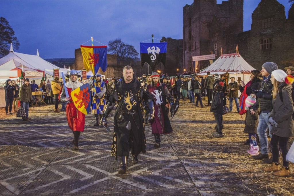 Ludlow Medieval Christmas Fayre credit Ashleigh Cadet