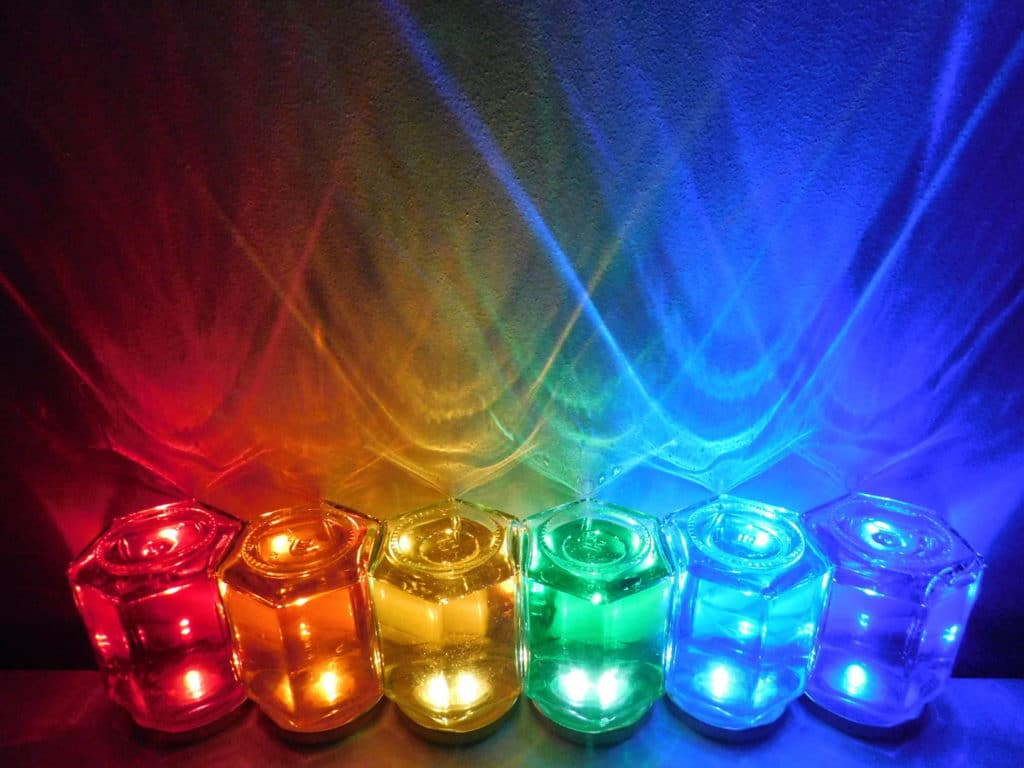 Light Up Poole Community Chandelier