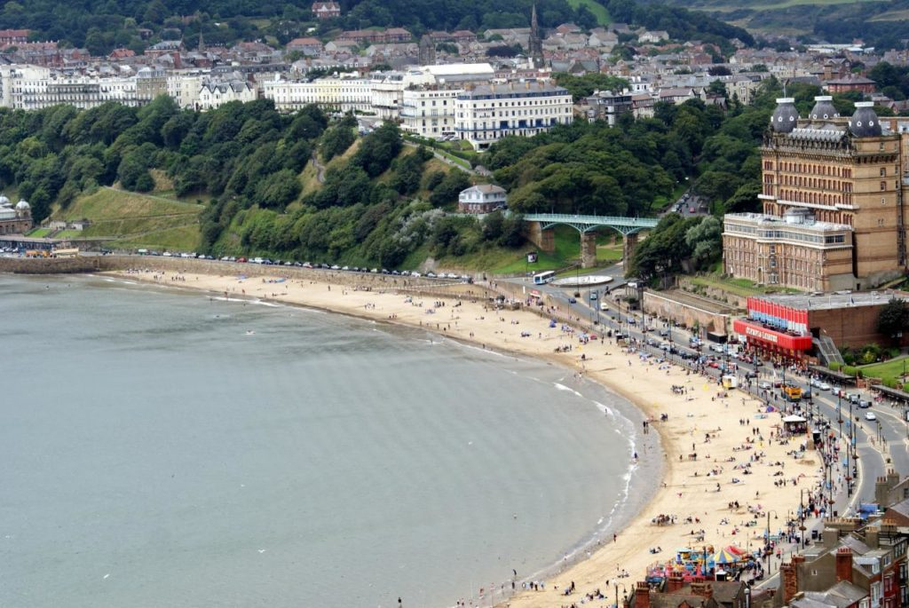 Scarborough by Adam Kerfoot-Roberts from Halifax, UK / CC BY-SA