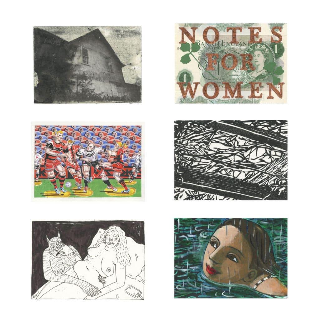 Art on a Postcard, International Women's Day