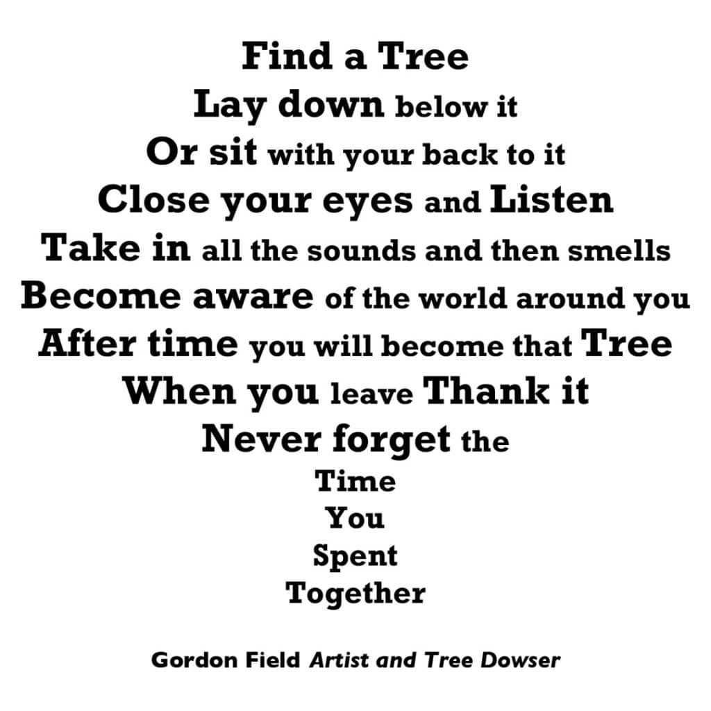 Gordon Field, Find A Tree