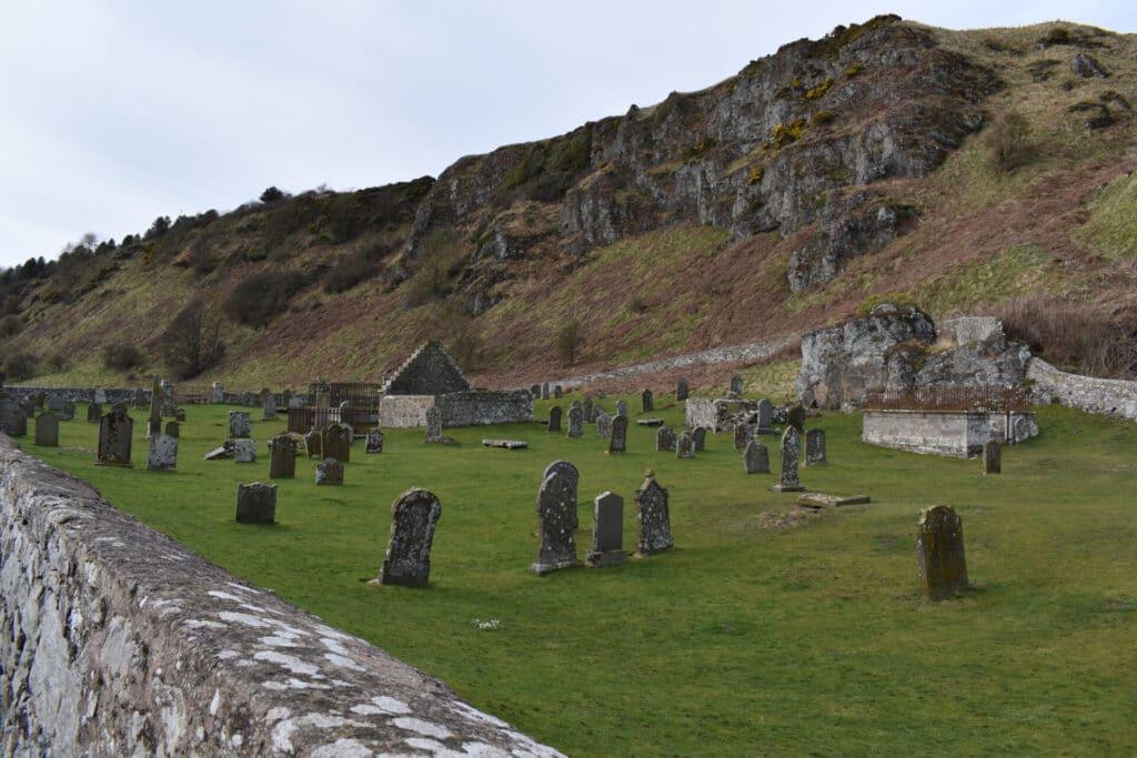 Graveyard at St Cyrus