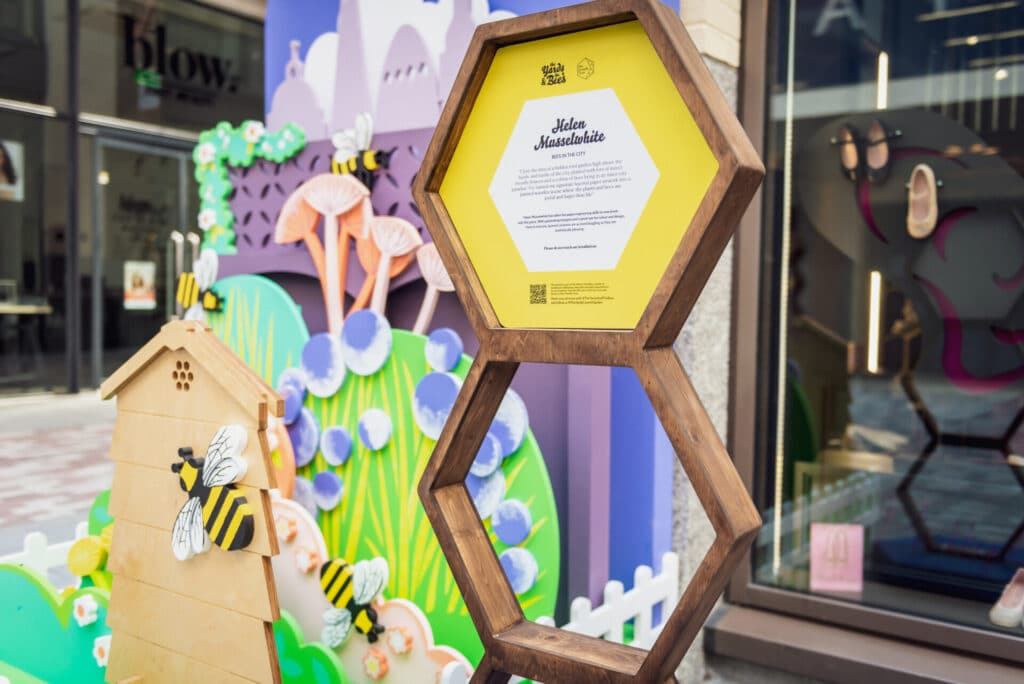 Bees in the City by Helen Musselwhite