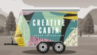 Creative Cabin on tour in Devon
