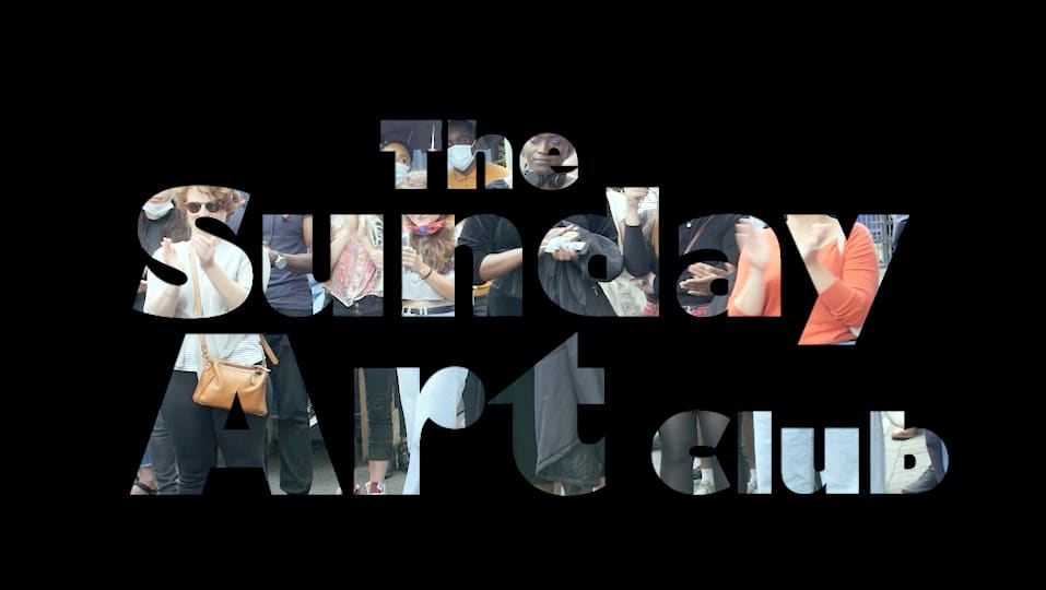 The Sunday Art Club event in London and online