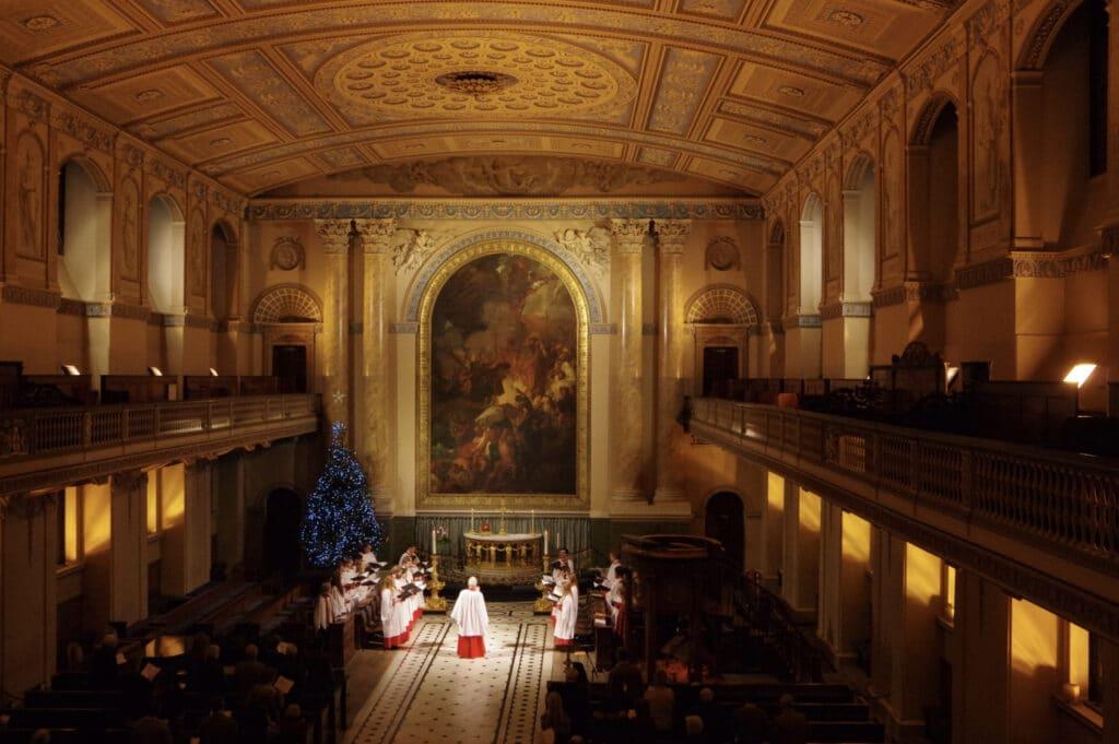 Christmas Carols at the Old Royal Naval College