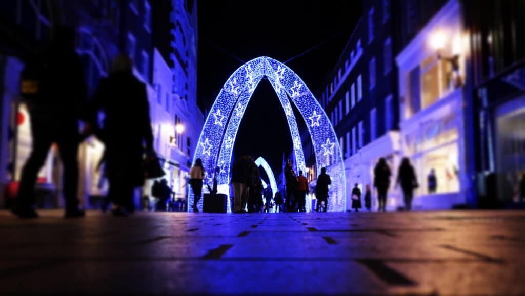 Christmas in London, emmanuel appiah via unsplash