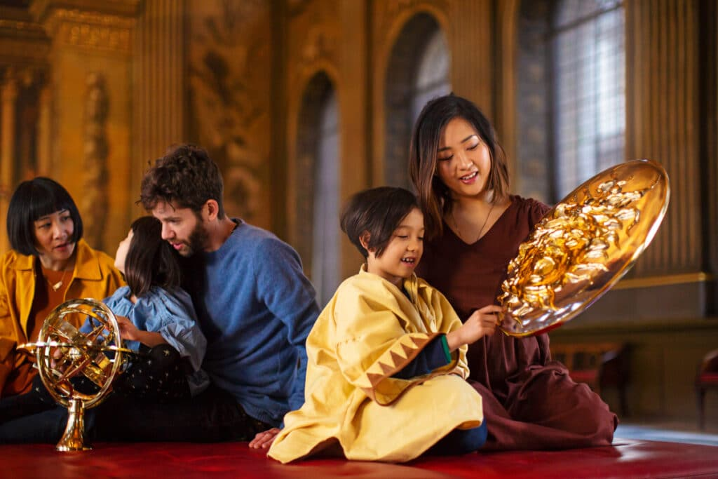 Tudor Palace Palaver, half term events by Old Royal Naval College in Greenwich
