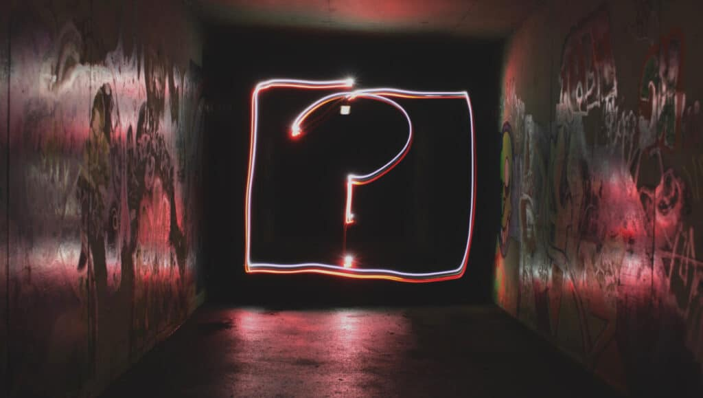 Question Mark by Emily Morter on Unsplash