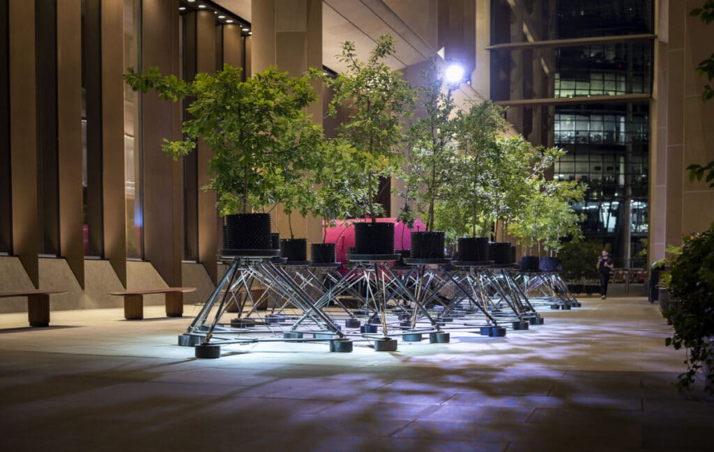 """""""Beuys' Acorns"""", A New Installation By Ackroyd & Harvey with Exploration Architecture @ Bloomberg Arcade"""