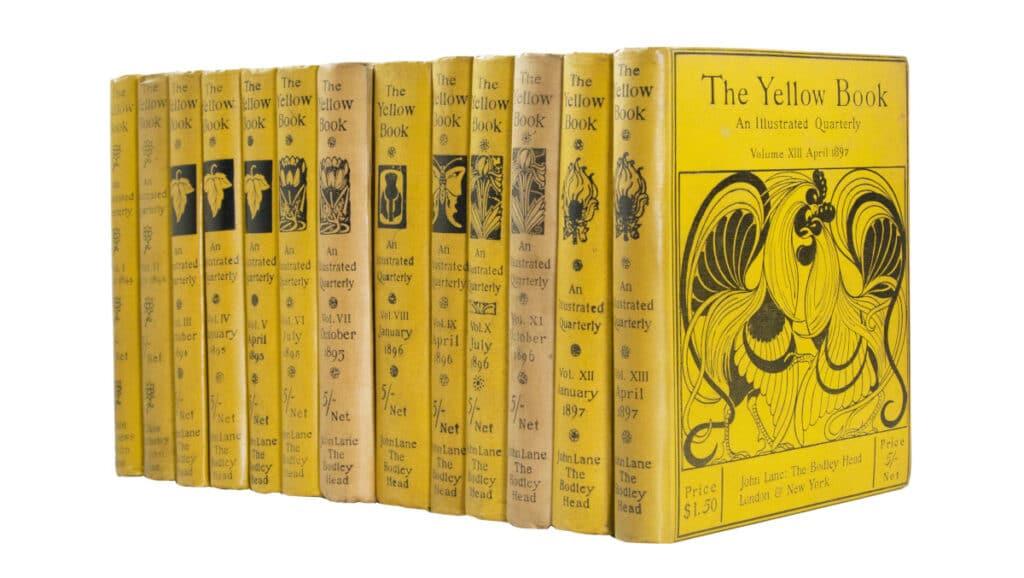 Aubrey Beardsley, The Yellow Book, 1894-97 103306_2