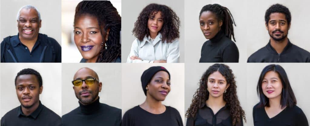 The cast of Talawa Theatre & Radio 4's dramas