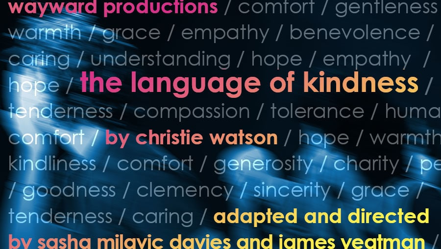 The Language of Kindness banner (JJ Noakes Creative)
