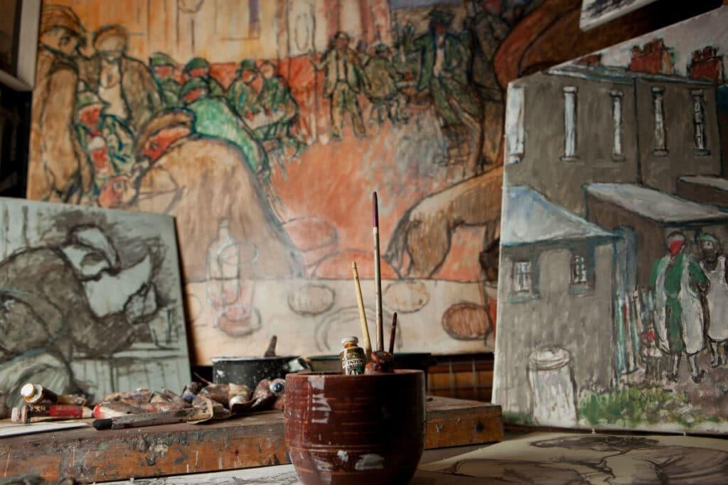 Norman Cornish's work at Beamish Museum.