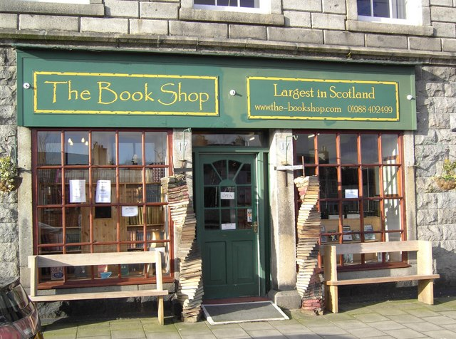 The Book Shop in Wigtown (Photo: Colin Kinnear)