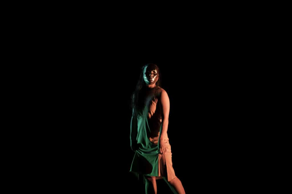 Dancer Lila Naruse in Somnium, part of Myths and Dreams (Photo: Filipe Alcada)