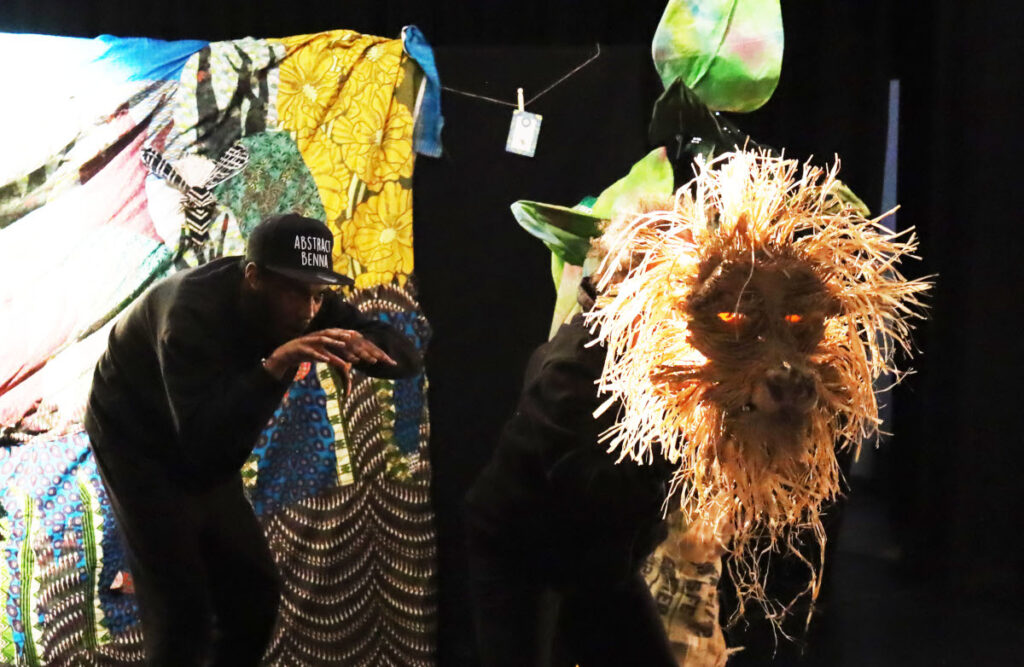 Anansi the Trickster at Rosemary Branch
